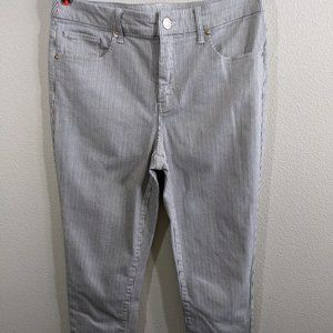 Chico's So Slimming Girlfriend Ankle Pants Sz 0.5